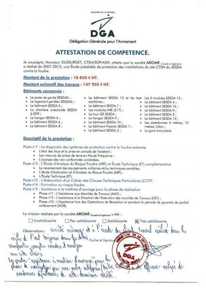Délégation Générale pour l'Armement à Toulon