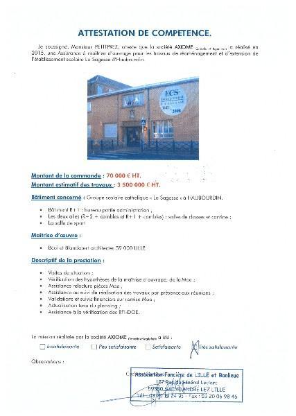 Etablissement scolaire La Sagesse d'Haubourdin