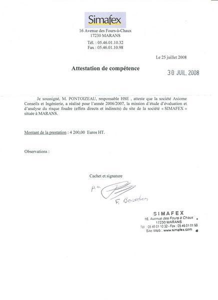 Société SIMAFEX