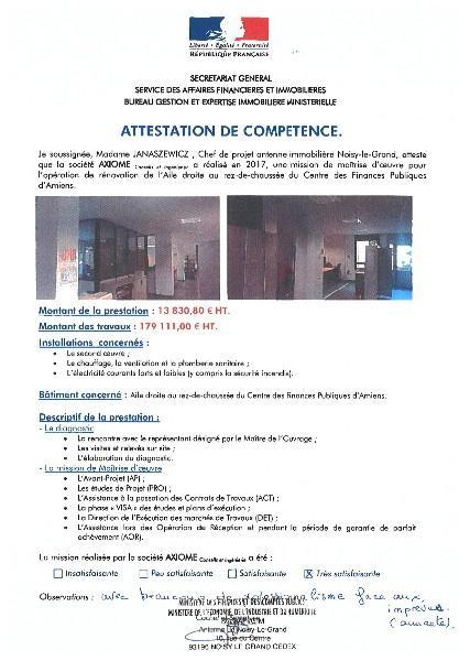 Centre des Finances Publiques d'Amiens