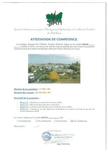 SIAH (Syndicat Intercommunal pour l'Aménagement Hydraulique des vallées du Croult et du Petit Rosne)