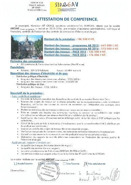 Syndicat Intercommunal de Distribution d'Energie Electrique et de Gaz dans l'Arrondissement de Valenciennes